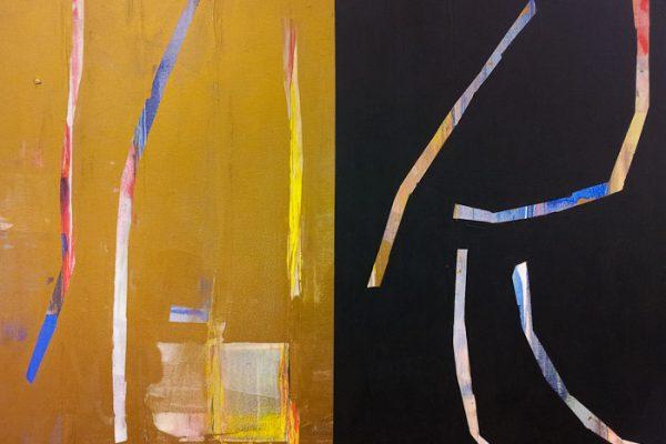 'Sparks', L 29 x B 23, Acryl, 2013