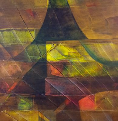 'At Sea', L 60 x B 80, Acryl, 2014 (n.t.k.)