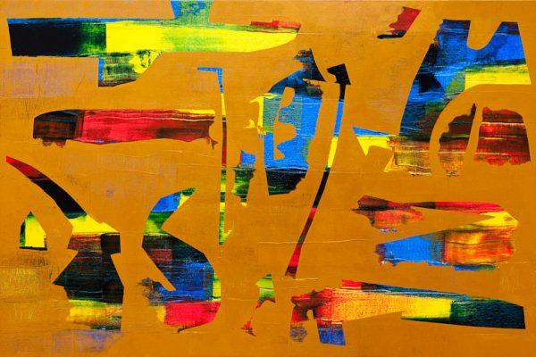 'World I', L 120 x B 80, Acryl, 2013