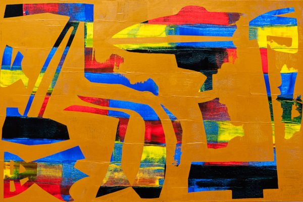 'World II', L 120 x B 80, Acryl, 2013