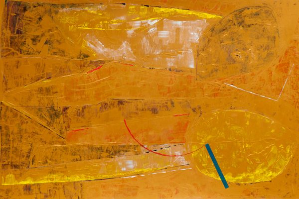 'Lying And Talking', L 120 x B 80, Acryl, 2013