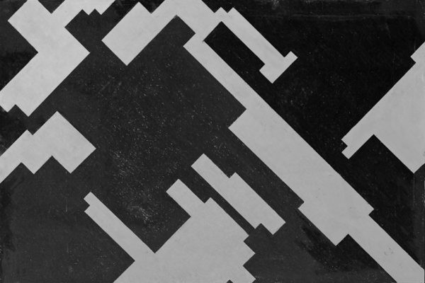 'Rhythm', L 80 x B 120, Grafiet en Syberisch krijt, 2011