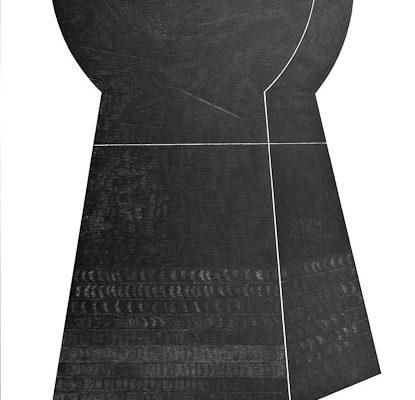 'Universa II', L 71 x B 101, Grafiet, 2007