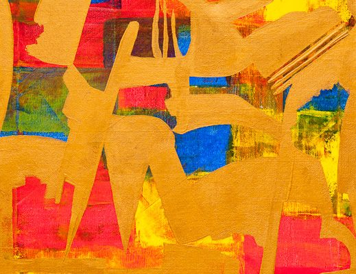 'City', L 30 x B 30, Acryl, 2013
