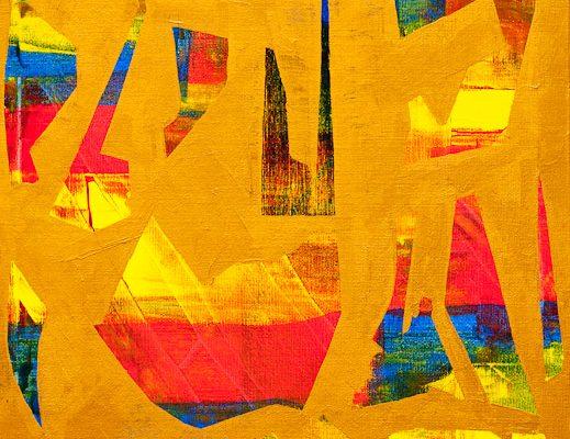 'Spelen', L 30 x B 30, Acryl, 2013