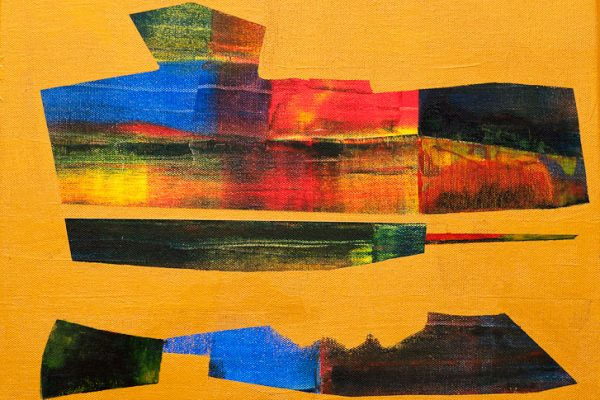 'Strong', L 40 x B 30, Acryl, 2013