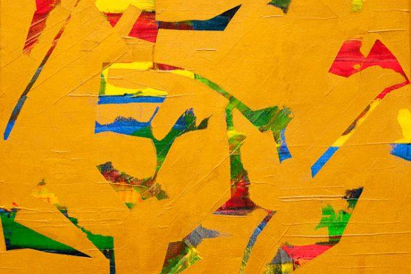 'Jump', L 50 x B 40, Acryl, 2013