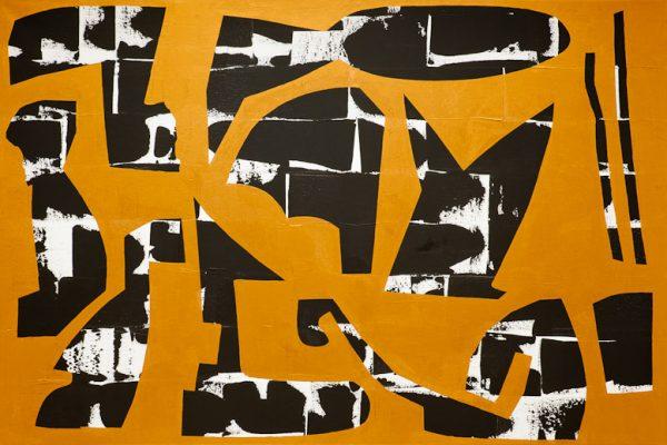 'Strangers', L 150 x B 100, Acryl, 2013