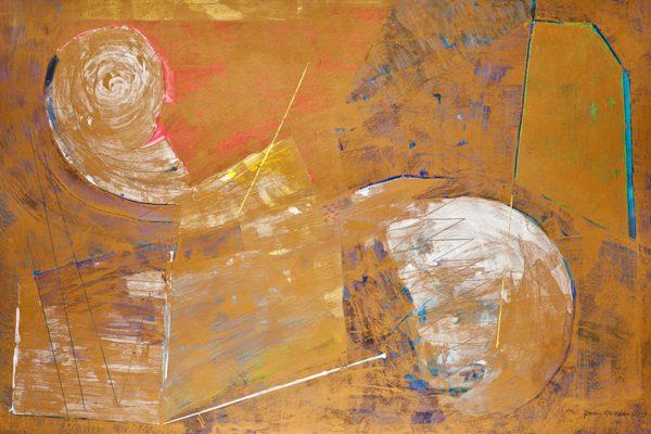 'Floating', L 120 x B 80, Acryl, 2013