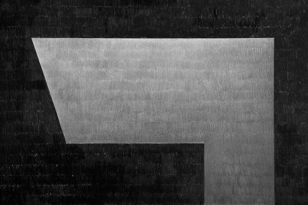 'Tranquility', L 71 x B 101, Grafiet en Syberisch krijt, 2008