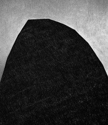 'Fear Of Falling', L 80 x B 120, Grafiet en Syberisch Krijt, 2008