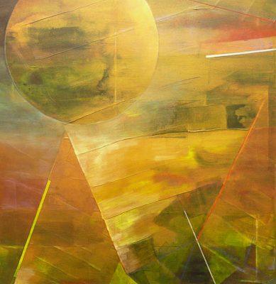 'Floating II', L 60 x B 80, Acryl, 2014 (n.t.k.)