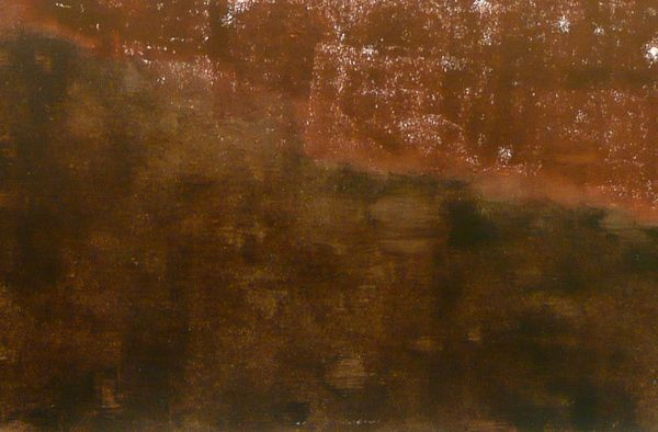 'Heart Of Mourning 14', L 30 x B 60, Monotype, 2014