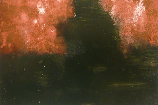 'Heart Of Mourning V', L 30 x B 21, Monotype, 2014