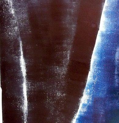 'Benen', L 67,5 x B 49, Monoprint, 2015