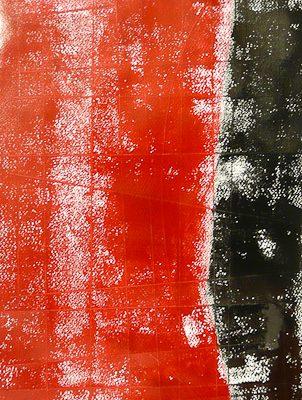 'Staand Naakt', L 60 x B 30, Monoprint, 2015