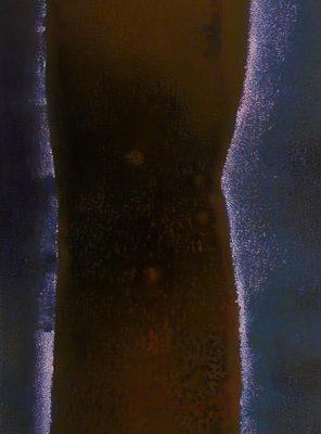 'Donker', L 30 x B 60, Monoprint, 2015