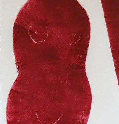 'Staan', L 40 x B 60, Monotype, 2015