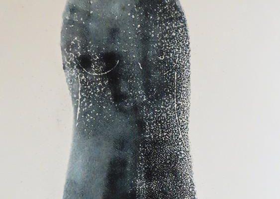 'Meisje I', L 55 x B 76, Monotype, 2016
