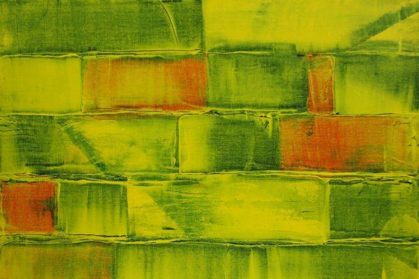 'Gaan', L 50 x B 50, Acryl op doek, 2015