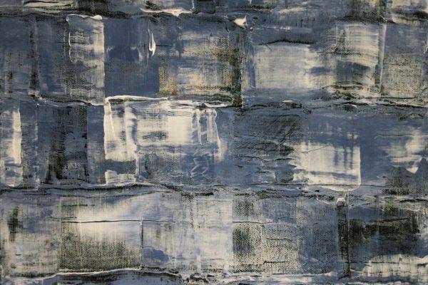 'Winter', L 30 x B 30, Acryl op doek, 2015