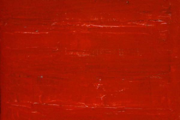 'Rode Zee', L 20 x B 20, Acryl op doek, 2017