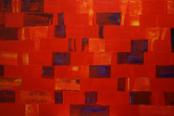 'Rhythm', L 120 x B 80, Acryl, 2015