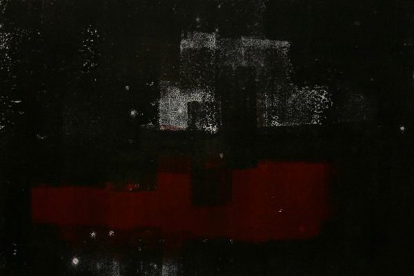 'Ships In The Night', L 50 x B 21, Monotype, 2015