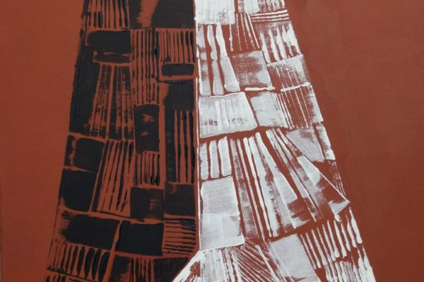 'Paar', L 50 x B 70, Acryl op doek, 2018