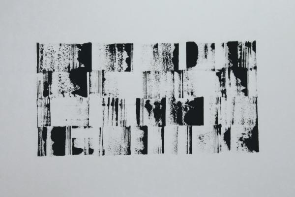 'Huid', L 60 x B 40, Acryl op doek, 2018