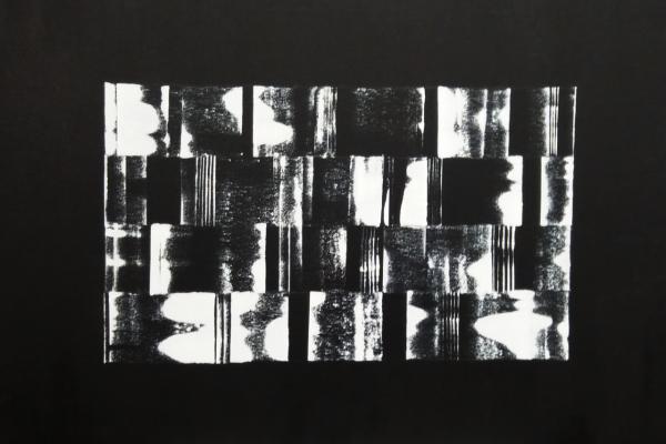 'Storm', L 90 x B 70, Acryl op doek, 2018