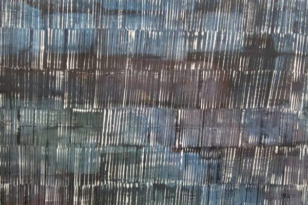 'Storm', L 50 x B 60, Acryl op doek, 2018