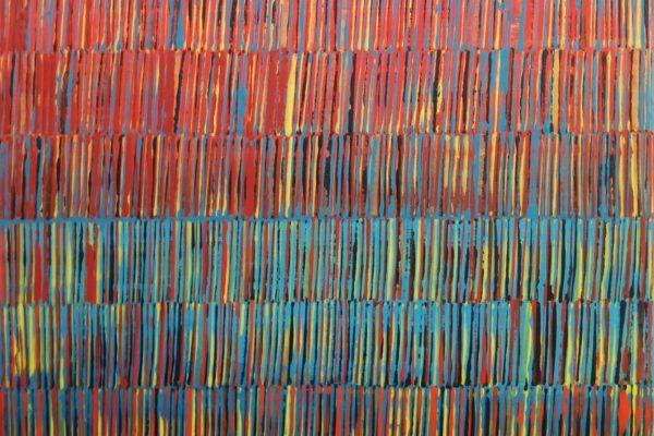 'Toen', L 40 x B 50, Acryl op doek, 2018