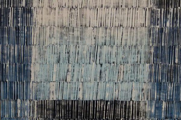 'Nacht', L 50 x B 70, Acryl op doek, 2018