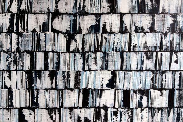 'Geschiedenis', L 70 X B 50, Acryl op doek, 2019