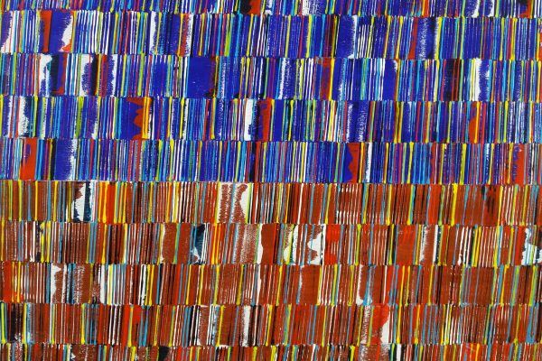 'Colorfields', B50 X L70, Acryl op doek, 2019