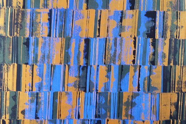 'Meditatie 3', B100 X L70, Acryl op doek, 2019