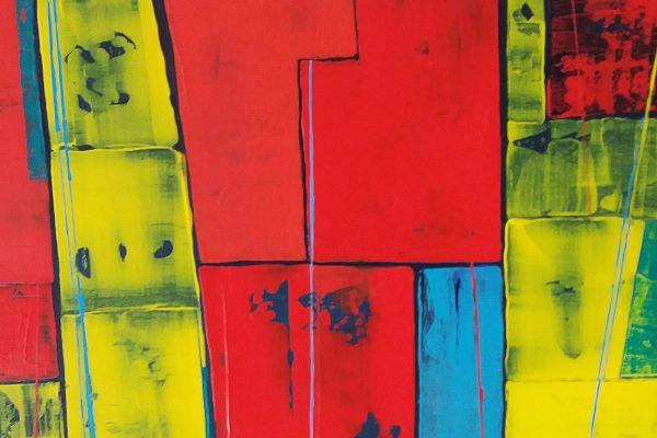 'Illusies', L50 x B40, Acryl op doek, 2019