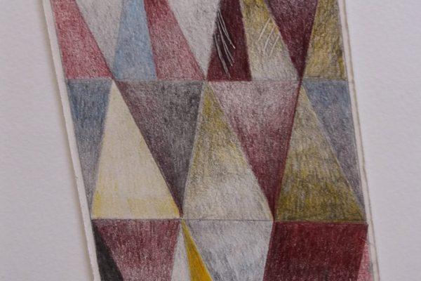 'Sorrow and Pain', L 19 x B 13, Grafiet en kleurpotlood, 2020
