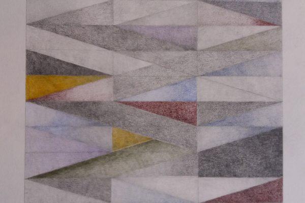 'zZpeken en Troosten', L 71 x B 57, Grafiet en kleurpotlood, 2020