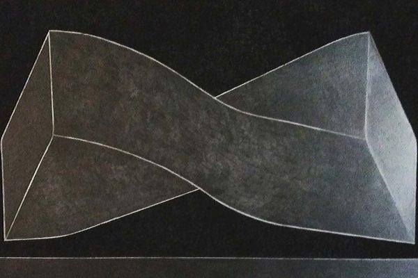 'Existence', L 120 x B 80, Grafiet en Syberisch krijt, 2021